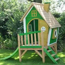 Whacky Tower Play House - wooden playhouses for kids