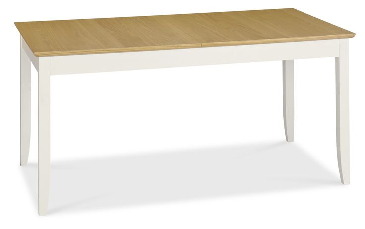 Shaker Oak 6-8 Butterfly Extension Dining Table 160-200cm- visit http://solidwoodfurniture.co/product-details-oak-furnitures-5227-shaker-oak-butterfly-extension-dining-table-cm.html