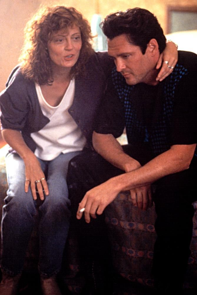 "Susan Sarandon, Michael Madsen in ""Thelma & Louise"" (1991). DIRECTOR: Ridley Scott. CAST:"