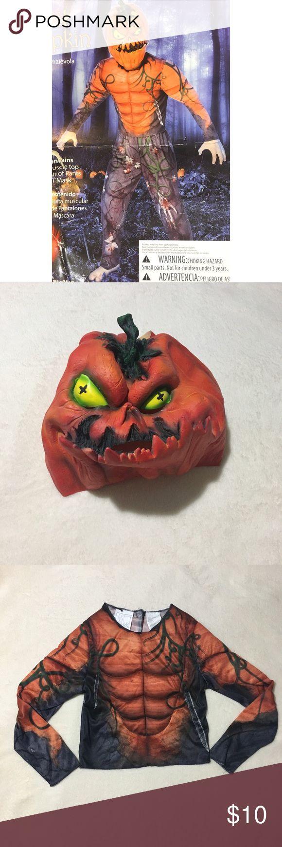 Evil pumpkin costume for kids evil pumpkin definitely an award winner costume comes