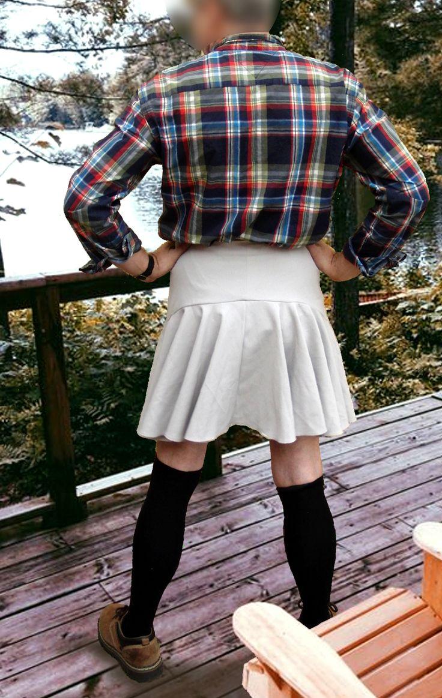 Men can wear skirts