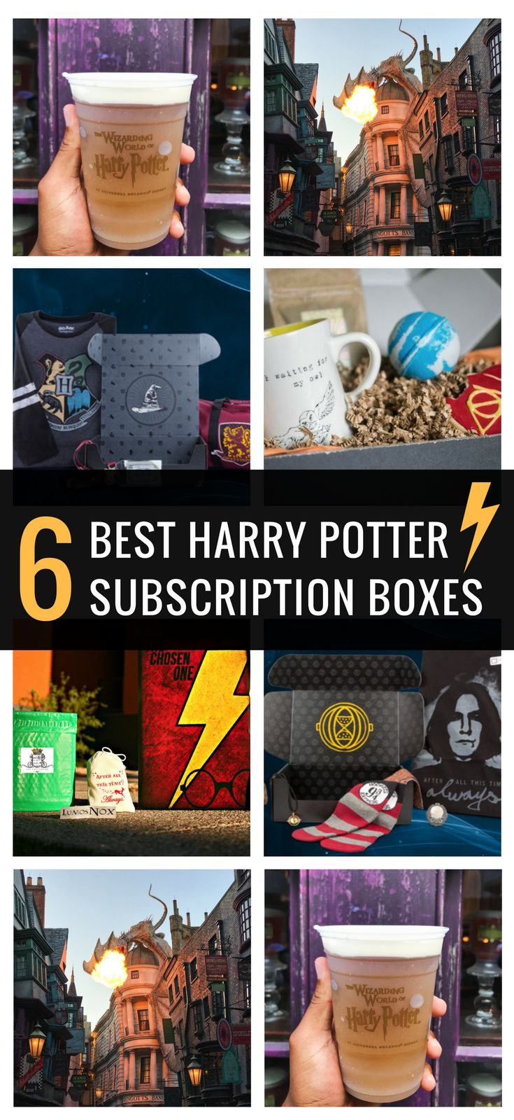 Best Harry Potter subscription boxes for Potterheads and true fans!