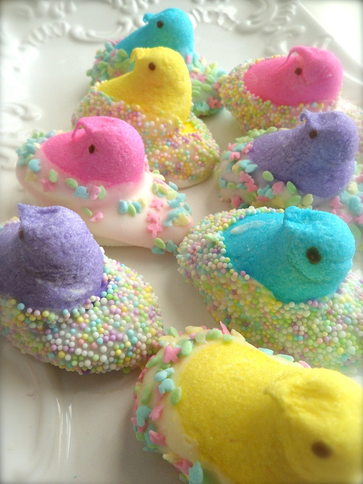Chocolate Dipped Easter Peeps by FrosttheCake