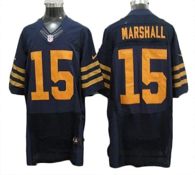 5ab973ca7 ... NFL Jerseys Brandon Marshall Jersey Nike Elite 1940s Throwback Stitched  15 Chicago Bears Jersey In Blue ...