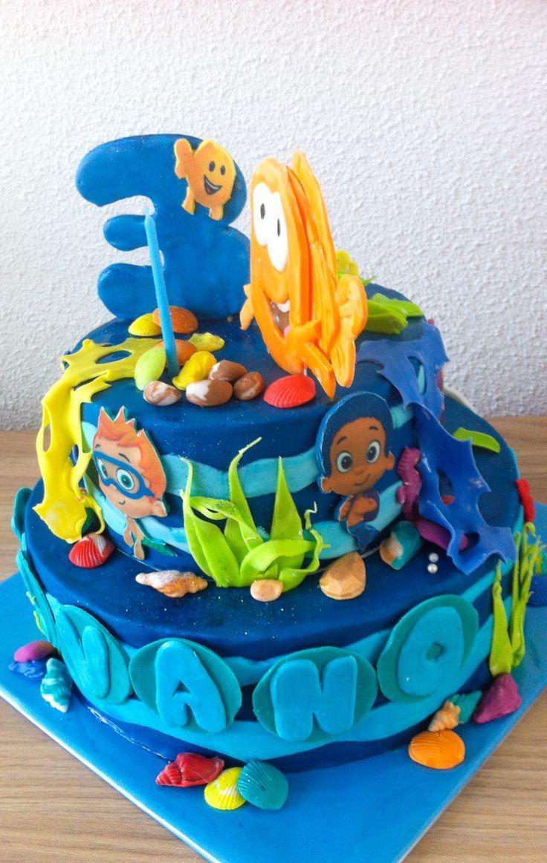 Bubbel guppies cake