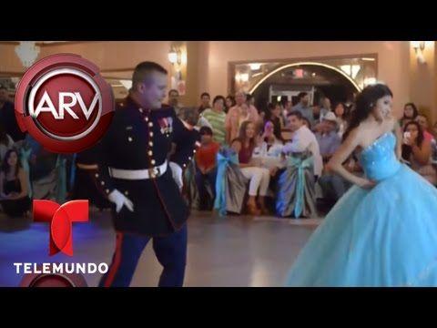 Infante de marina sorprende bailando con una quinceañera | Al Rojo Vivo ...