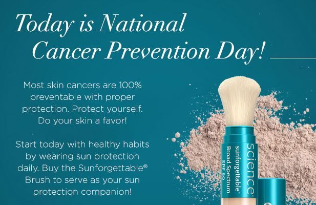 February is National Cancer Prevention Month! Remember to always wear sunscreen. #protectyourskin #gainesville #dermatology #nomoreskincancer
