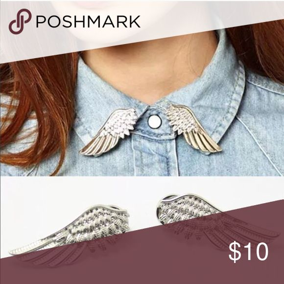 Wing collar brooches Have in silver and gold Jewelry Brooches