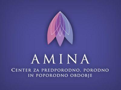 Amina Logo by Mitja Grebenjak
