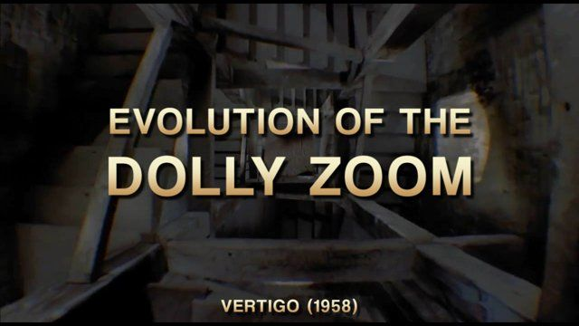 READ FULL ARTICLE here: http://vashivisuals.com/evolution-dolly-zoom/  The Dolly Zoom is a camera shot made famous in Alfred Hitchcock's VERTIGO (1958). It was invented by cameraman Irmin Roberts to visually convey the feeling of agoraphobia by zooming in with the lens  while simultaneously dollying backwards the entire camera...or vice versa.  When the Dolly Zoom shot is used in conjunction with an unsettling or emotional moment...the viewer is swept up in a visceral visual that ...