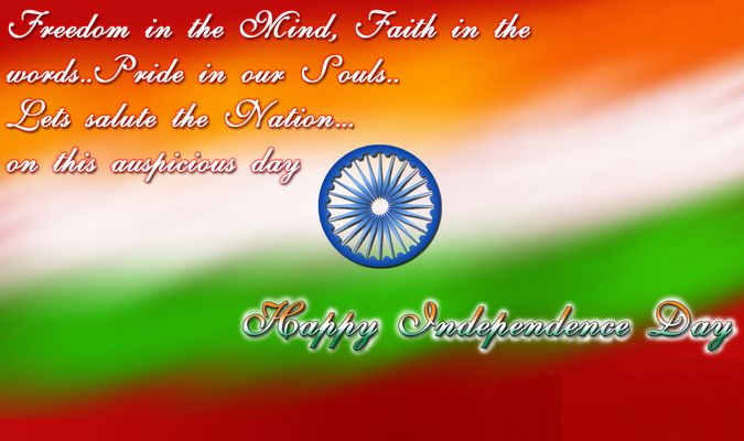 Happy Independence Day 2015 is Celebrating on 15th August in India. Short Speech in Hindi and English for Kids and Children on 69th Independence Day 2015.
