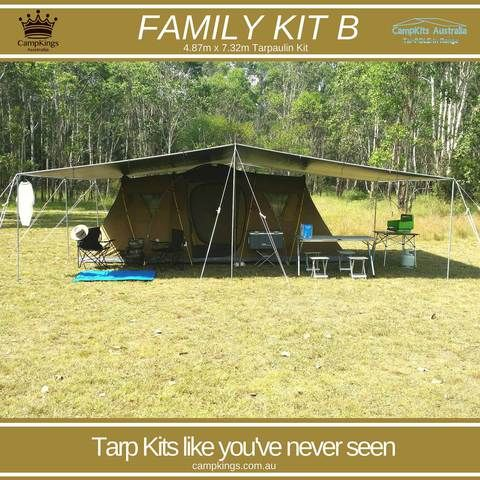 FAMILY KIT B | 16FT x 24FT | Solo Person 45 Minute set up