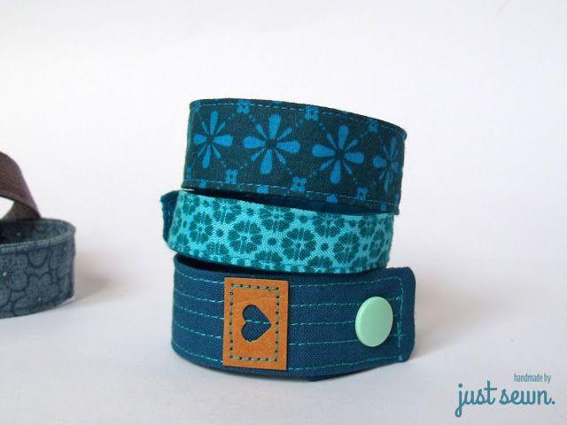 Armbänder aus Stoffresten