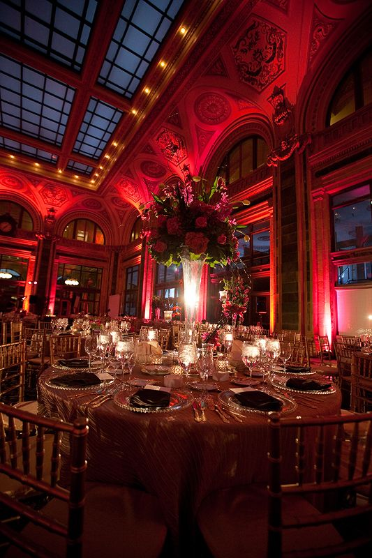 venue seating and lighting
