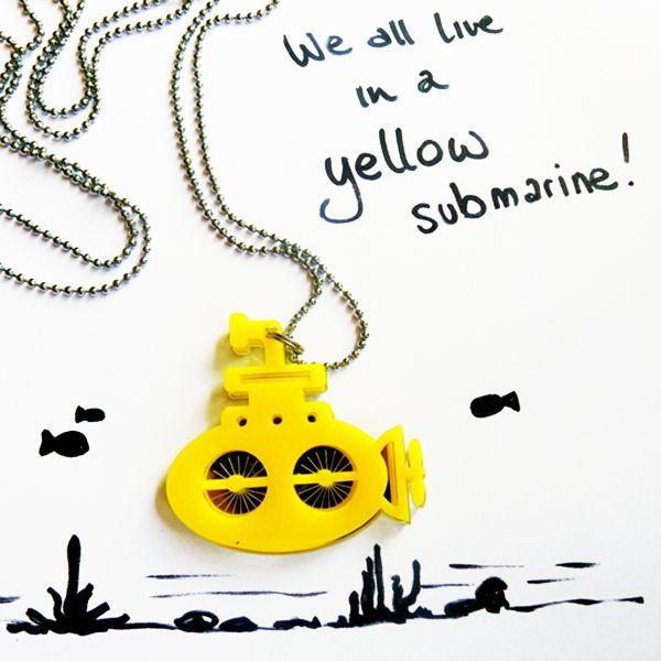 #yellowsubmarine @enjoygioielli  #Enjoy #gioielli http://omaventiquaranta.blogspot.it/2014/12/fabrizia-petrillo-e-federica-massi.html