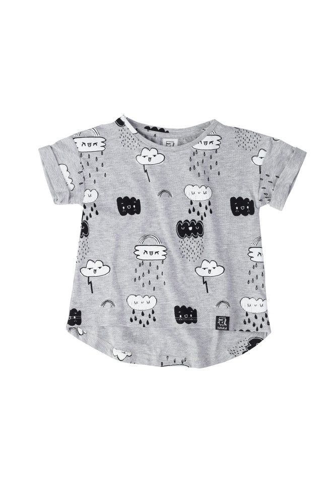 These rain clouds come with some attitude. Rebel but cute. By KuKuKid offered by Modern Rascals.ebel but cute – it is KuKuKid's key message. It is obvious that kids are great because of a great combination of reb