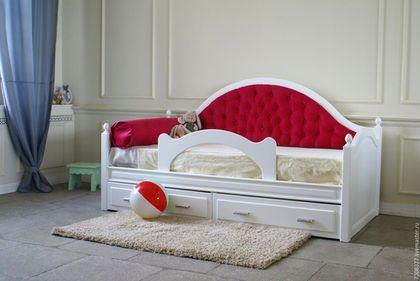 Мебель ручной работы. Заказать Кровать детская. Красивая мебель ручной работы. Ярмарка Мастеров. Кровать кушетка, кровать для куклы