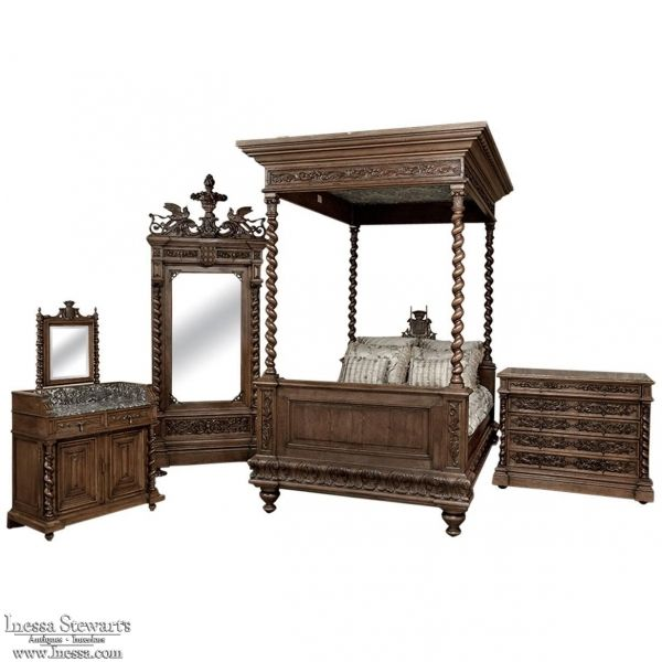 Antique And Modern Furniture Together 978 best antique bedroom furniture / beds images on pinterest