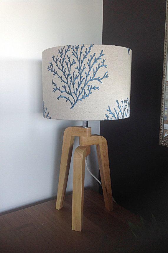 Hampton's Beach House Lamp Shade Coral Lampshade