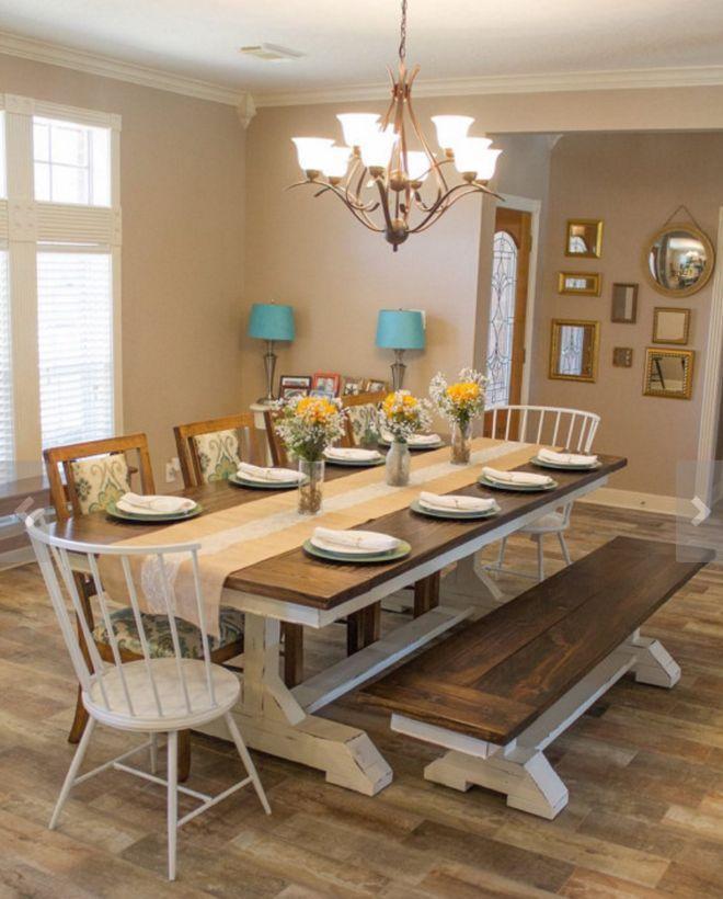 Farmhouse Kitchen Dining: Best 25+ Custom Dining Tables Ideas On Pinterest