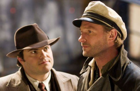 Still of Jack Black, King Kong and Thomas Kretschmann in King Kong