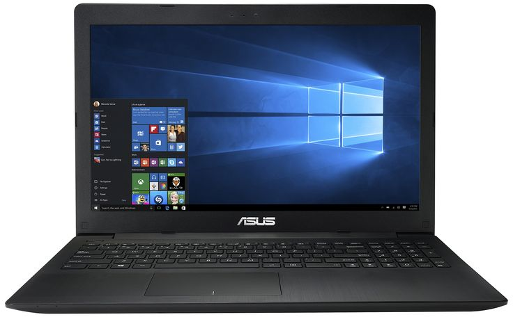 Asus X553MA-XX490T Portatile, Display LCD 15.6 pollici HD, Processore Intel Celeron N2840, RAM 4 GB, HDD 500 GB, Nero/Antracite