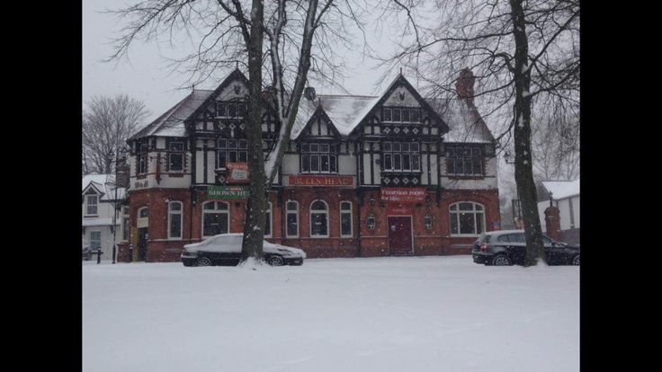 Kings norton green in the snow 2013