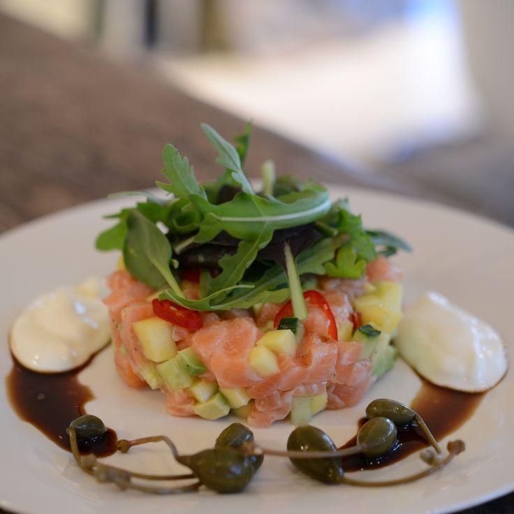 Laksetartar | lars spiser – oppskrifter & matglede