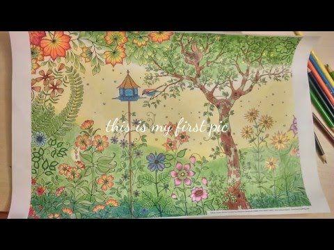 Secret Garden Coloring Book Youtube Secret Gardens