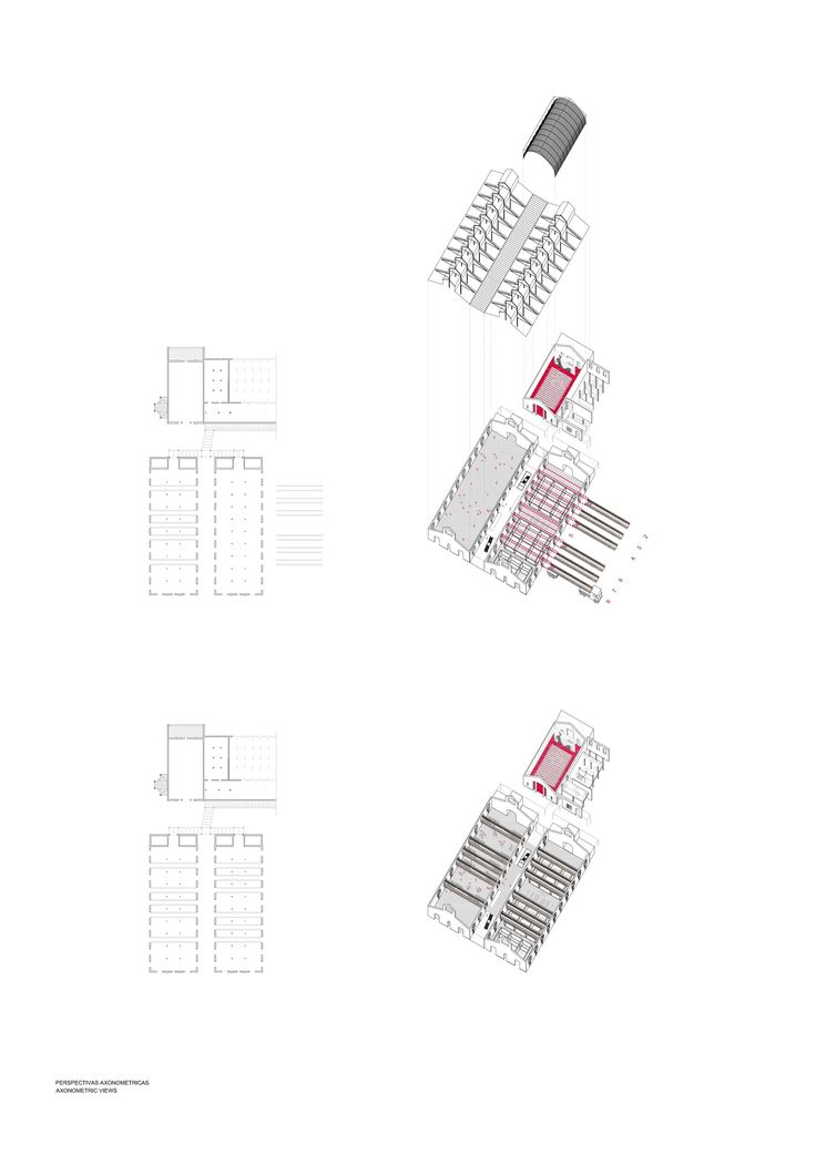 Casa del Lector,Diagram
