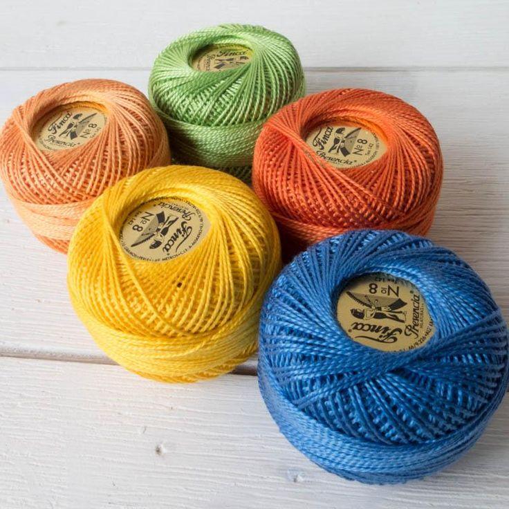 Perle Cotton Thread Set - School Days