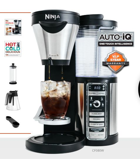 Celebrate National Coffee Day Today: Make a Homemade Pumpkin Spice Latte with the Ninja Coffee Bar!