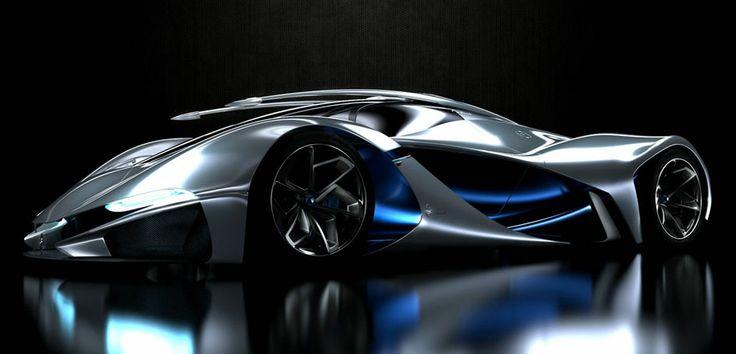 LaMaserati concept - Design by Mark Hostler