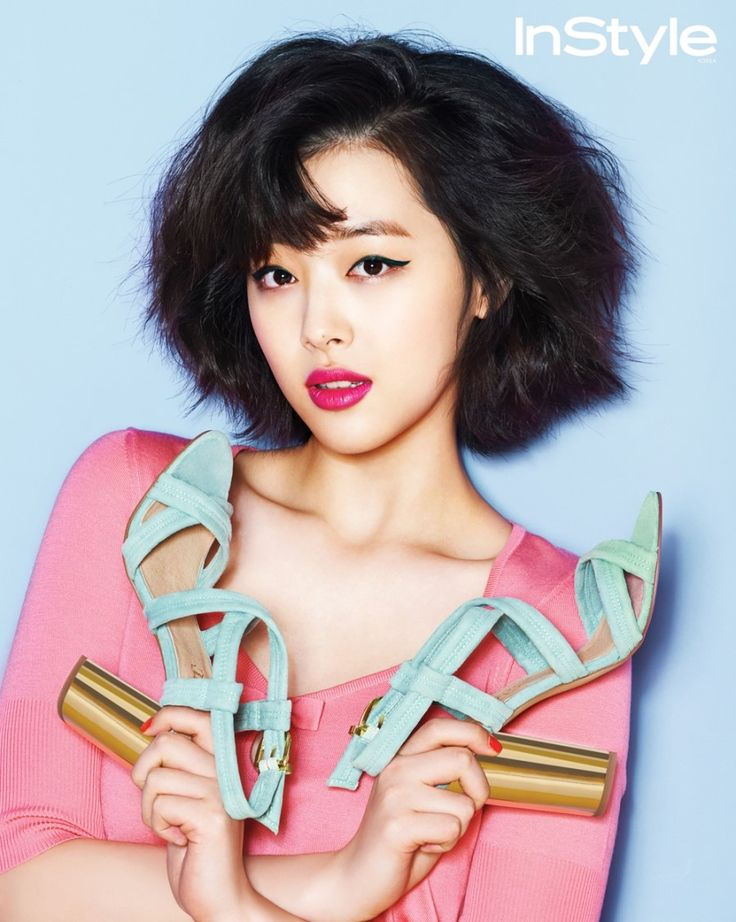 f(x)'s Sulli Hikes It Up For ALDO Pictorial In InStyle Korea's April 2013 Issue (UPDATED)