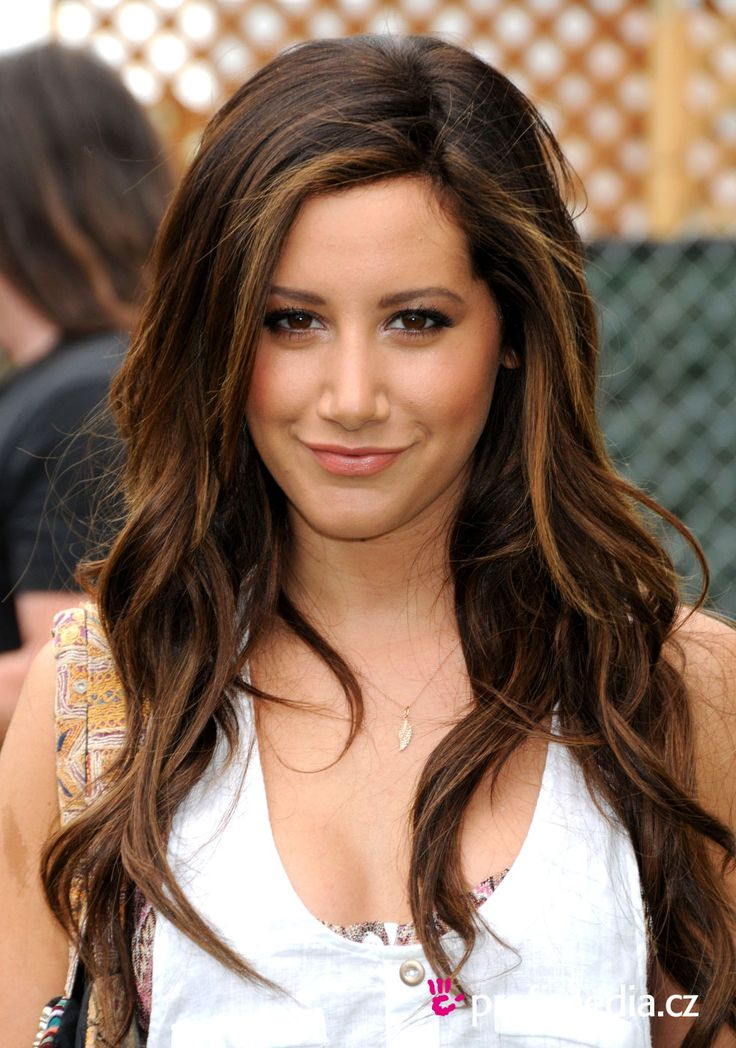 Ashley Tisdale Brunette Hair