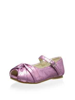 70% OFF Mini Treasure Kids Kid's Aleisha Open Toe Mary Jane (Pink)