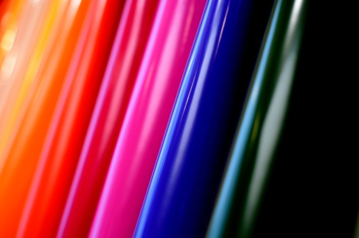 Vernici colorate - dettaglio