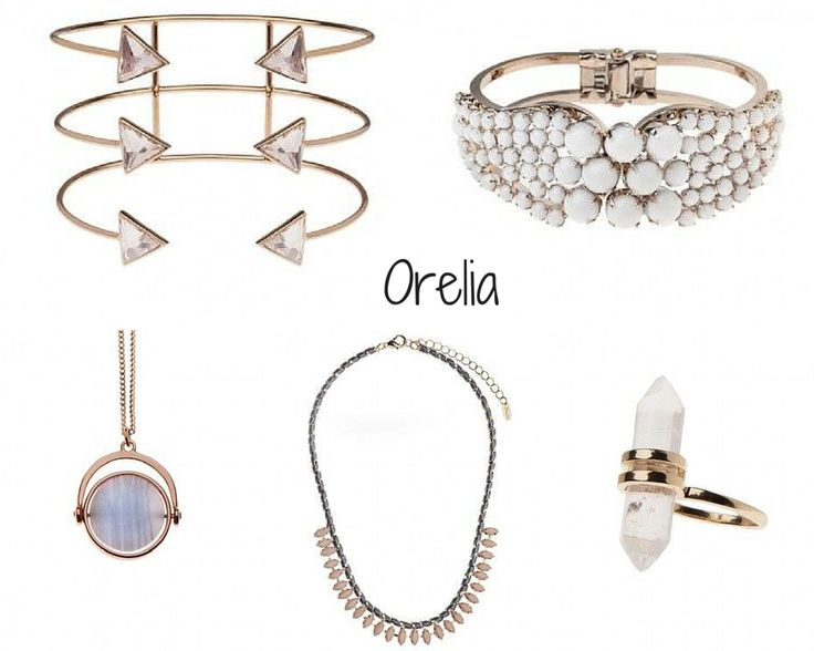 ORELIA (Accessible):  Orelia is a very interesting discovery: with very accessible prices they still manage to create on-trend jewelry that could elevate any outfit in one's wardrobe. I love the gold trend for jewelry as I think it's very elegant, feminine and complements an otherwise boring outfit like an all-black one. Put some golden jewelry on top and you're good to go!
