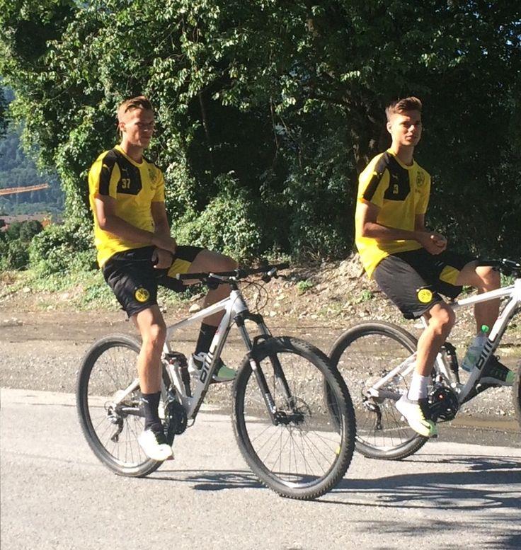 Erik Durm and Julian Weigl