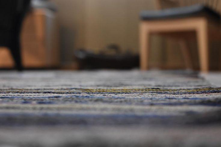 Swedish vintage rag rug 0705 - Rugs of Sweden