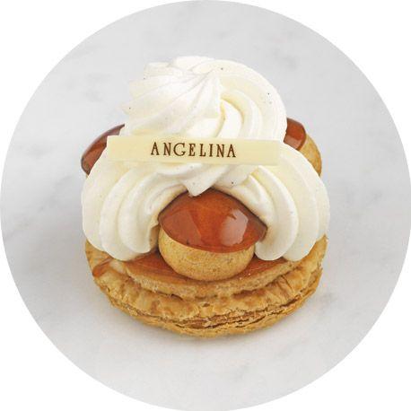 Une base de pâte feuilletée croustillante, de petits choux garnis de crème pâtissière et délicatement caramélisés. Le tout surmonté de Chant...