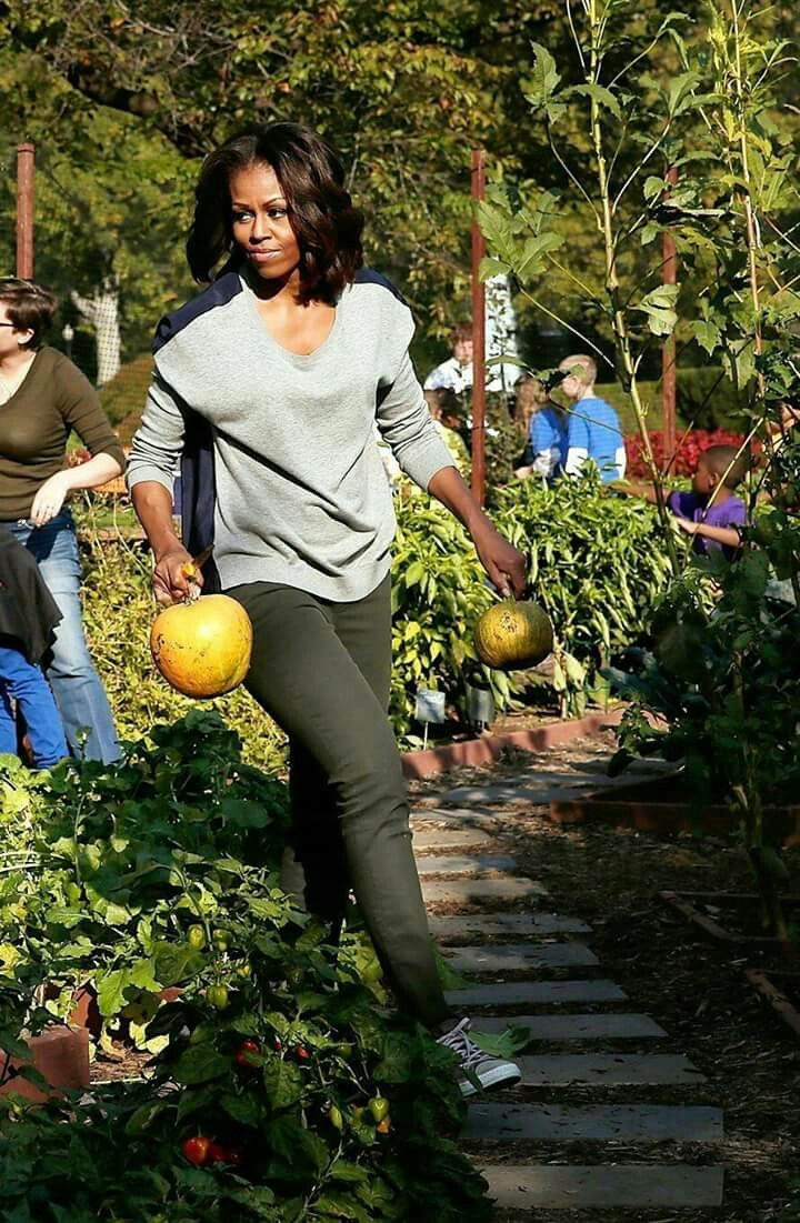 Michelle Obama is a woman of action.