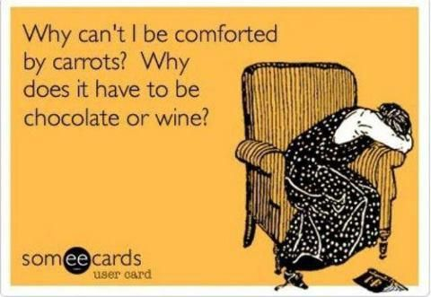 WHY NOT CARROTS?!?