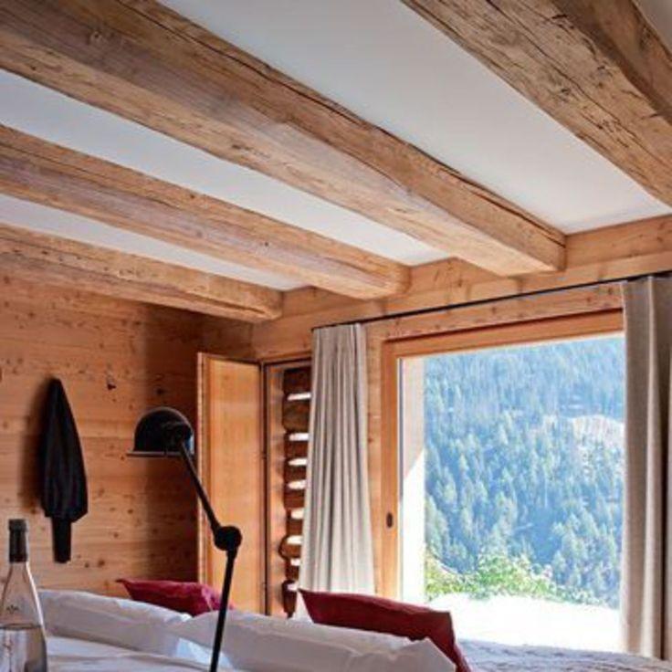 Best Poutre Colonne Plafond Bois Images On   Rustic