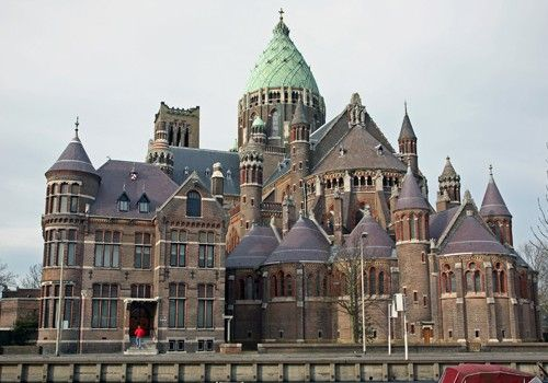 St. Bavochurch. Haarlem, The Netherlands