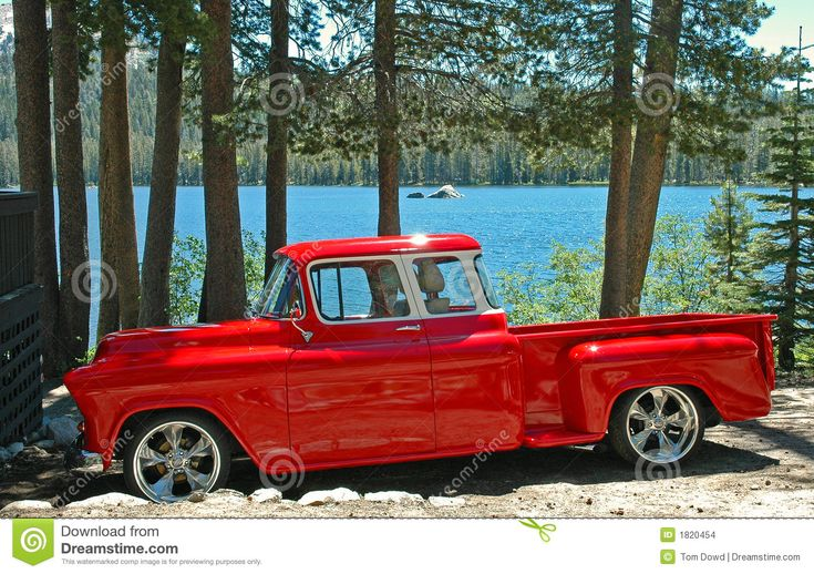 Rockin' 55 Chevy Pickup Stock Images - Image: 1820454