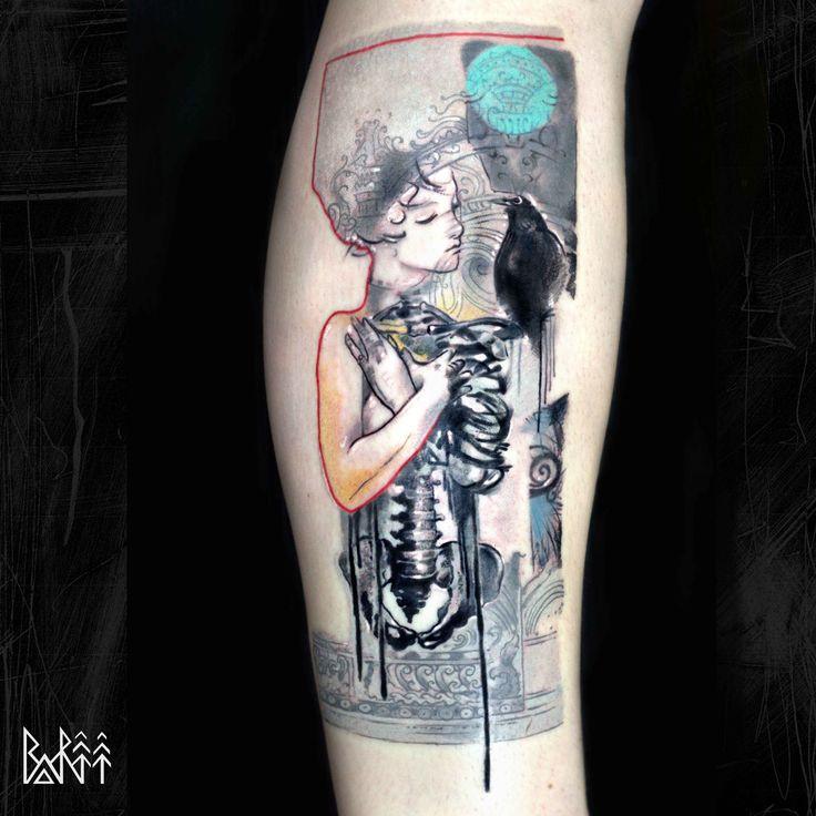 colour tattoo art work tattoo