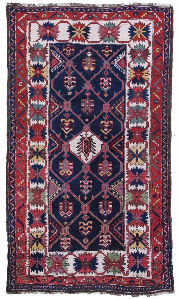 "Unique wool foundation early 20th century Bakhtiari! 4'2""x 7'2"" SKU# ARTR-28778"