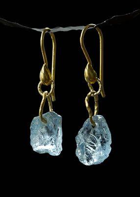 Josie Schmid, Tulagems: Aquamarine Earrings