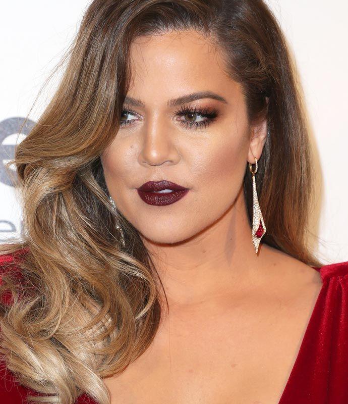 khloe kardashian oscar 2014 hairmakeup pinterest